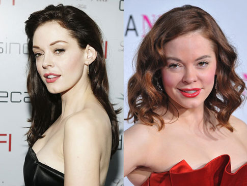 Rose McGowan plastic surgery before and after (image hosted by nydailynews.com)