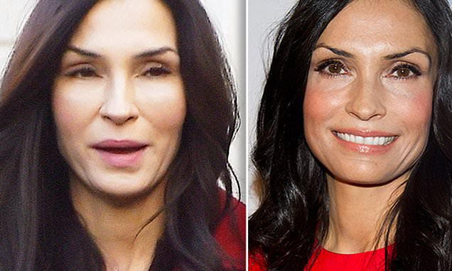 What has Famke Janssen done to her face? | Daily Mail Online
