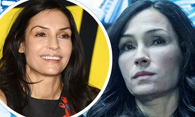 Fans struggle to recognise Famke Janssen, 54, on The Capture | Daily Mail Online
