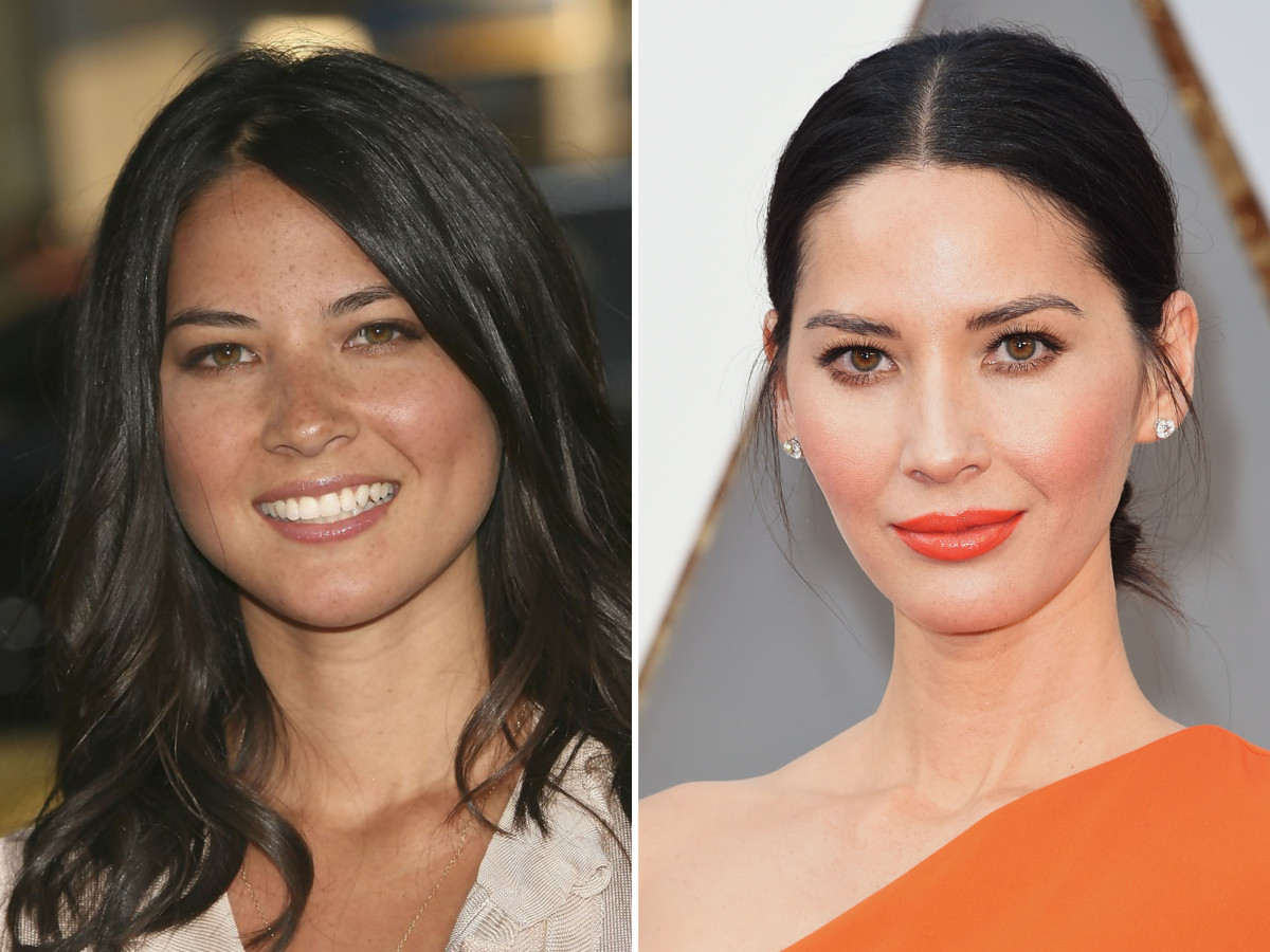 Olivia Munn, Before and After - The Skincare Edit